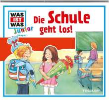 Was ist was Junior Hörspiel-CD 25: Die Schule geht los!, CD