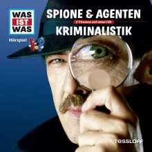 Manfred Baur: Was ist was Folge 51: Kriminalistik/ Spione & Agenten, CD
