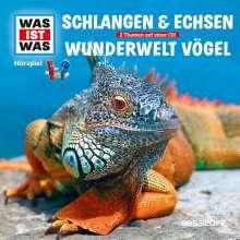 Schlangen & Echsen/ Vögel, CD