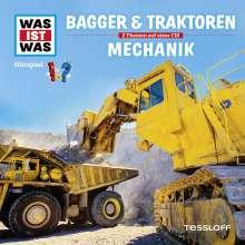 Manfred Baur: Was ist was Folge 46: Bagger & Traktoren/ Mechanik, CD