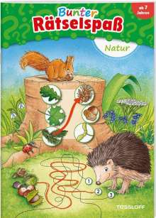 Bunter Rätselspaß. Natur, Buch