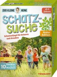 Stefan Heine: Der kleine Heine. Schatzsuche. Natur Edition. Schnitzeljagd für drinnen und draußen, Diverse