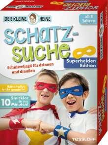 Stefan Heine: Der kleine Heine. Schatzsuche. Superhelden Edition. Schnitzeljagd für drinnen und draußen, Diverse