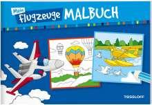 Mein Flugzeuge-Malbuch, Buch