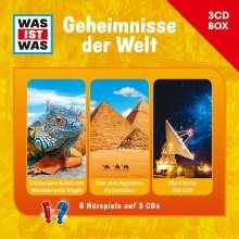Manfred Baur: Was ist was Hörspielbox: Geheimnisse der Welt, 3 CDs