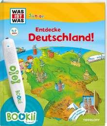 Bärbel Oftring: BOOKii® WAS IST WAS Junior Entdecke Deutschland!, Buch