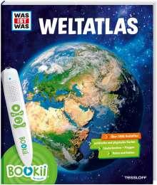 Manfred Baur: BOOKii® WAS IST WAS Weltatlas, Buch