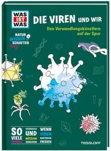 Manfred Baur: WAS IST WAS Naturwissenschaften easy! Biologie. Die Viren und wir, Buch