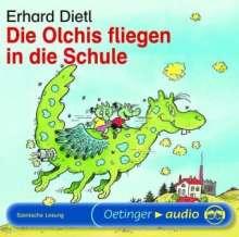 Erhard Dietl: Die Olchis fliegen in die Schule. CD, CD