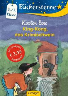Kirsten Boie: King-Kong, das Krimischwein, Buch