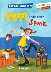 Astrid Lindgren: Pippi findet einen Spunk, Buch