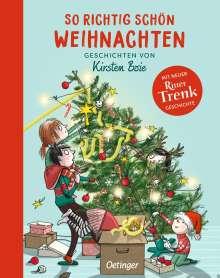 Kirsten Boie: So richtig schön Weihnachten, Buch