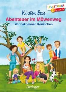 Kirsten Boie: Abenteuer im Möwenweg, Buch