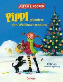 Astrid Lindgren: Pippi plündert den Weihnachtsbaum, Buch