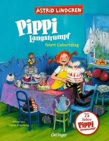 Astrid Lindgren: Pippi Langstrumpf feiert Geburtstag, Buch