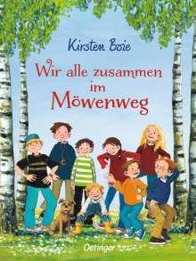 Kirsten Boie: Wir alle zusammen im Möwenweg, Buch