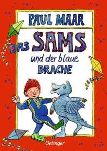 Paul Maar: Das Sams und der blaue Drache, Buch