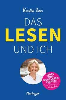 Kirsten Boie: Das Lesen und ich, Buch