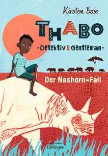 Kirsten Boie: Thabo, Detektiv und Gentleman - Der Nashorn-Fall, Buch