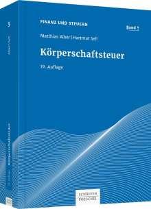 Matthias Alber: Körperschaftsteuer, Buch
