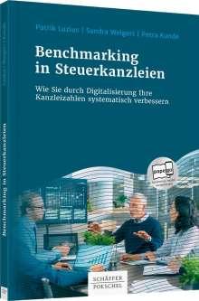 Patrik Luzius: Benchmarking in Steuerkanzleien, Buch
