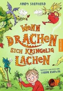 Andy Shepherd: Wenn Drachen sich kringelig lachen, Buch