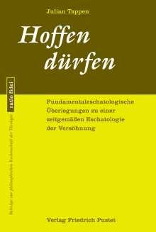 Julian Tappen: Hoffen dürfen, Buch