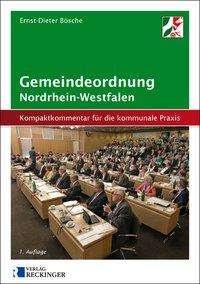 Ernst-Dieter Bösche: Gemeindeordnung für das Land Nordrhein-Westfalen, Buch