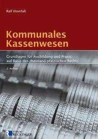 Ralf Klomfaß: Kommunales Kassenwesen, Buch
