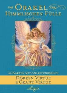 Doreen Virtue: Das Orakel der Himmlischen Fülle, Buch