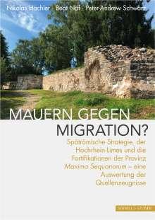 Nikolas Hächler: Mauern gegen Migration?, Buch