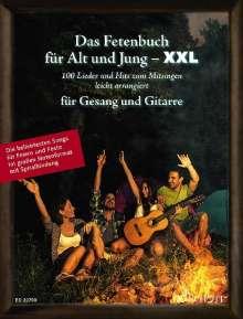 Das Fetenbuch für Alt und Jung - XXL. Gesang und Gitarre, Buch