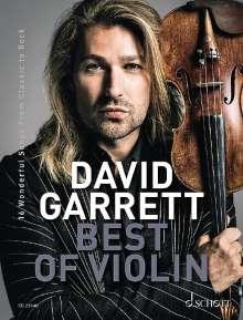 David Garrett: David Garrett Best Of Violin, Buch
