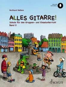Burkhard Wolters: Alles Gitarre! 2, Buch