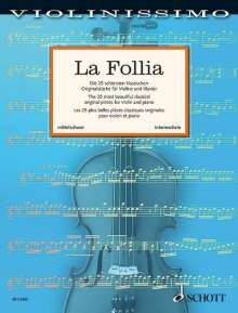 La Follia, Noten