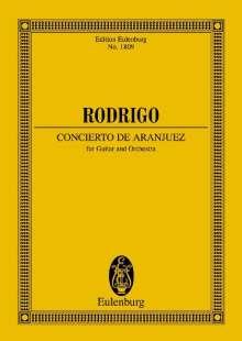 Joaquin Rodrigo: Concierto de Aranjuez, Noten
