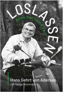 Hans Gehrt von Aderkas: Loslassen, Buch