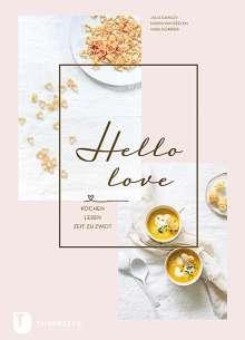 Julia Cawley: Hello Love, Buch