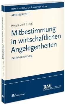 Holger Dahl: Mitbestimmung in wirtschaftlichen Angelegenheiten, Buch