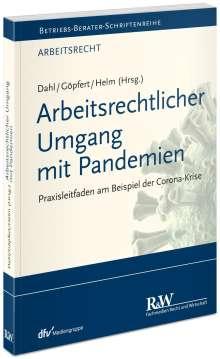 Arbeitsrechtlicher Umgang mit Pandemien, Buch