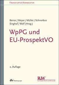 Carsten Berrar: WpPG und EU-ProspektVO, Buch