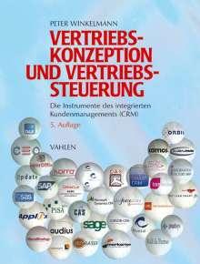 Peter Winkelmann: Vertriebskonzeption und Vertriebssteuerung, Buch