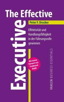 Peter F. Drucker: The Effective Executive, Buch