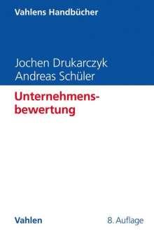 Jochen Drukarczyk: Unternehmensbewertung, Buch