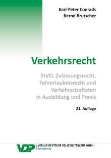 Karl-Peter Conrads: Verkehrsrecht, Buch