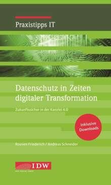 Rouven Friederich: Datenschutz in Zeiten digitaler Transformation, Buch