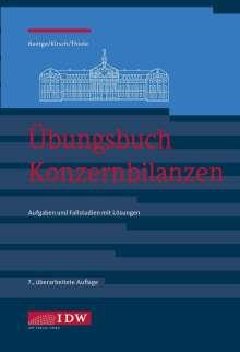 Jörg Baetge: Übungsbuch Konzernbilanzen, Buch
