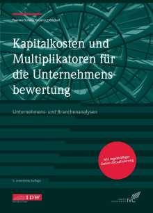 Lars Franken: Kapitalkosten und Multiplikatoren für die Unternehmensbewertung, Buch
