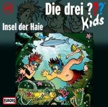 Ulf Blanck: Die drei ??? Kids 41: Insel der Haie (Fragezeichen), CD