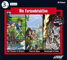 Ulf Blanck: Die Feriendetektive Hörbox Folgen 1-3, 3 CDs